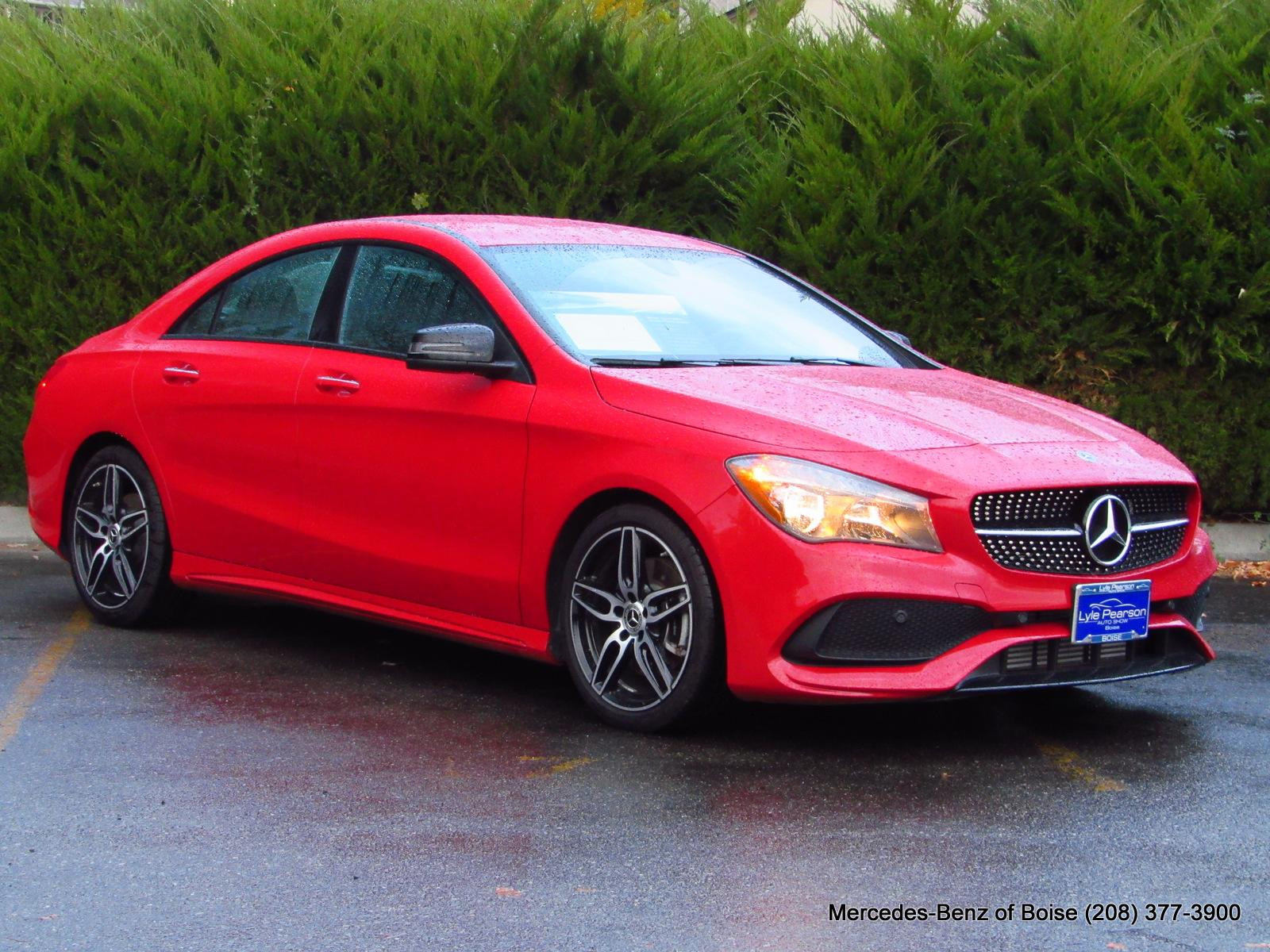 Pre Owned 2018 Mercedes Benz Cla 250 4matic Coupe For