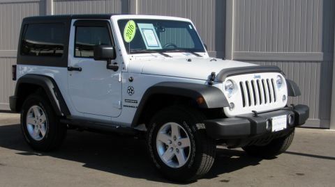 Pre-Owned 2016 Jeep Wrangler 4WD 2dr Sport
